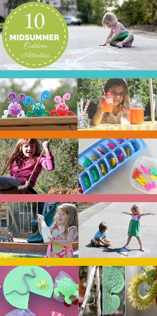 10 einfache DIY-Outdoor-Aktivitäten für Sie und Ihre Kinder, die Sie jetzt genießen können, während Sie …   – Sophie's Pins