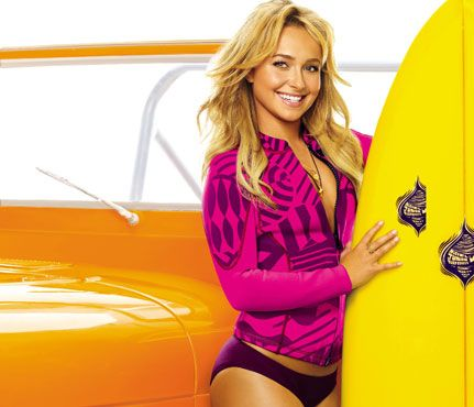"""Get-Fit Secrets From Our Fave Celebs: Eat Up to Slim Down. Hayden Panettiere knows it's ok to #TreatYoSelf. But as she explains, """"when I indulge, I try to do it in the morning so I can burn it off. It's my responsibility to be healthy and, no, I'm not going to starve."""" #SELFmagazine"""