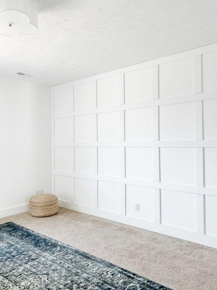 Weekend Recap Home White Paneling Bedroom Design