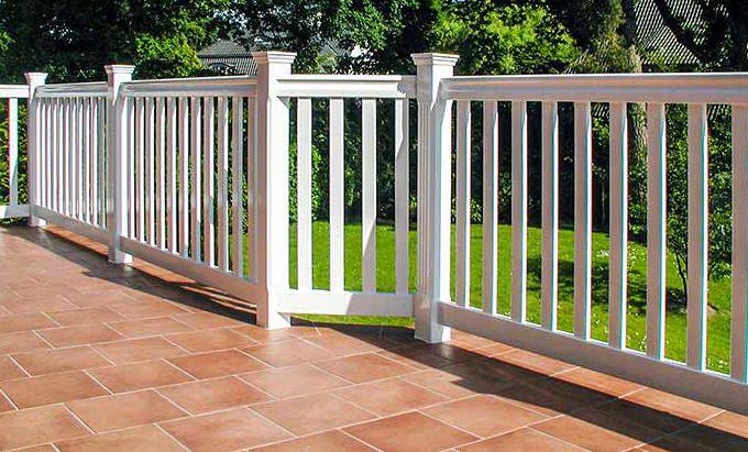 Geländer für Terrasse, Balkon und Garten Anfertigung