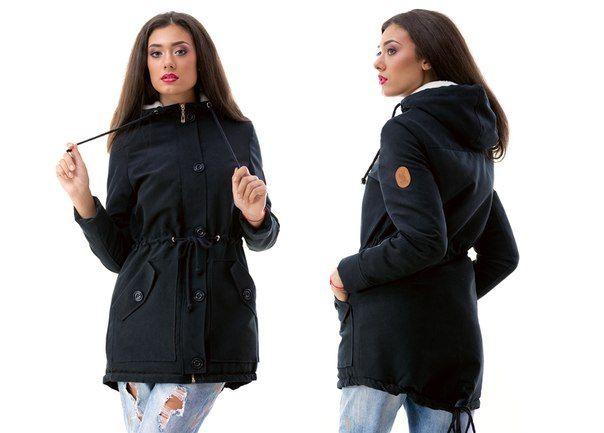 Парка куртка Greta черный