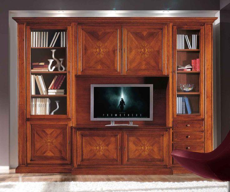Έπιπλα Σπιτιού - Επιπλοσύνθεση Ξύλινη με 5 πόρτες Classical Collection