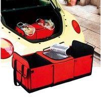 Wish | Multipurpose Auto Vehicle Trunk Collapsible Storage Box Basket Organizer
