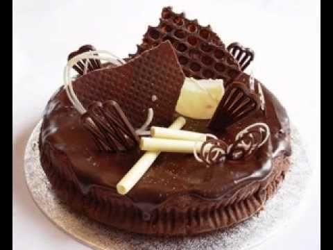 Easy Chocolate cake decorations ideas