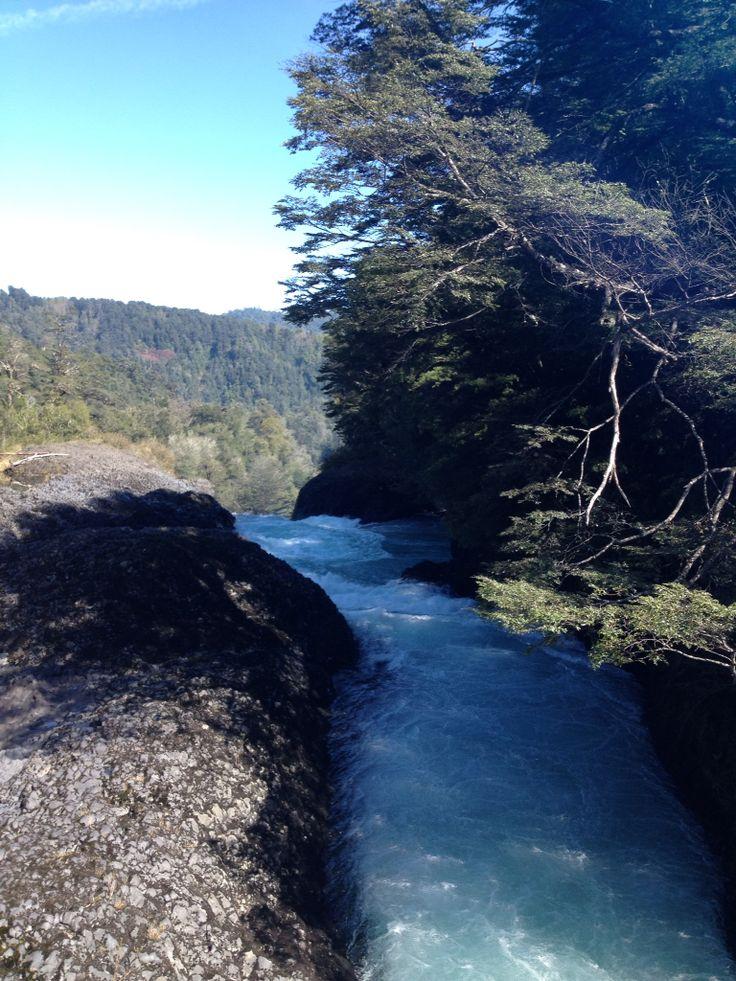 Río Fuy, Neltume, Chile