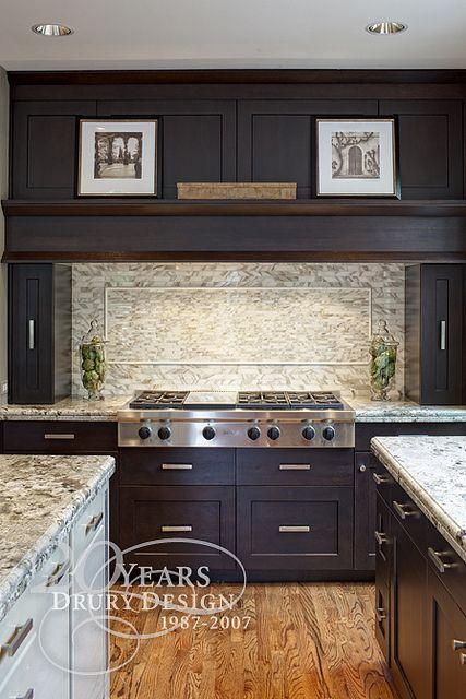 Transitional Kitchen Design by Drury Design Kitchen & Bath Studio, via Flickr