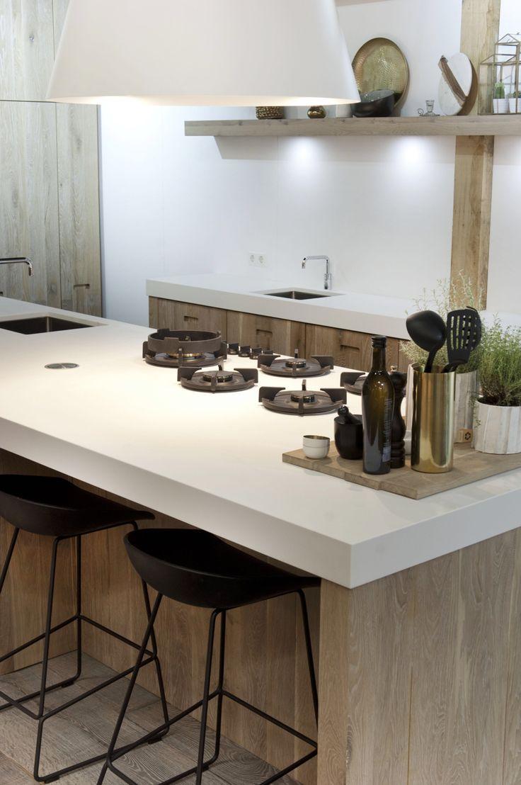 Meer dan 1000 afbeeldingen over keuken op pinterest kasten moderne keukens en eilanden - Onderwerp deco design keuken ...