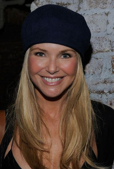 Christie Brinkley Knit Beanie - Christie Brinkley Looks - StyleBistro