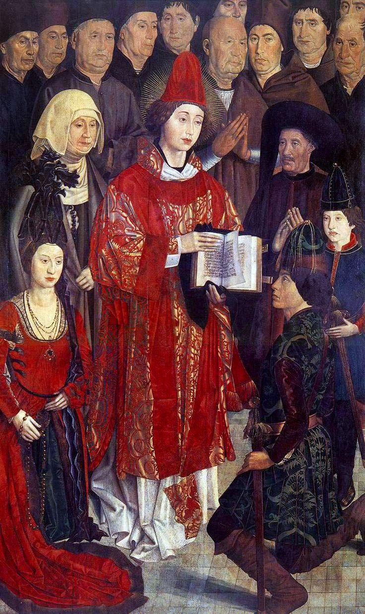 Painel los Infantes by Nuno Gonçalves, circa 1460 Portugal