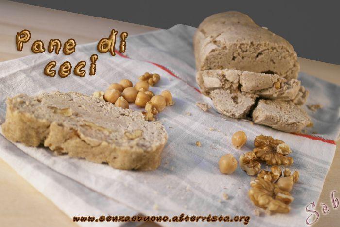 Pane di ceci #senzaglutine, #vegan e #senzalievito di birra http://senzaebuono.altervista.org/pane-di-ceci-senza-glutine-senza-lievito/