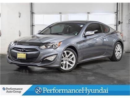 """Car - 2015 Hyundai Genesis Coupe 3.8L Premium at One Owner  l Navi in St. Catharines, ON  $23,990"""
