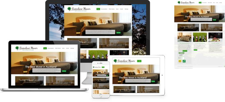 Forge Online creates yet another stunning example of contemporary and functionally powerful Open Source website design for Greenlane Manor.