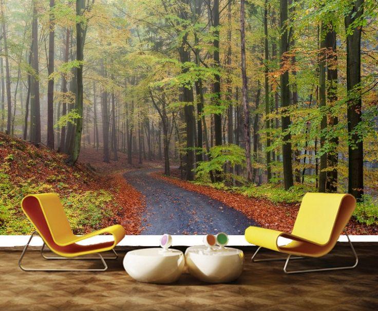 Ağaç Duvar Kağıdı  #3Boyutlu #Ağaç #Manzara #DuvarKağıdı #Tbt