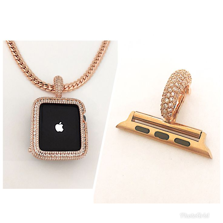 Image by CrystaliZing Designs on Bling Apple Watch