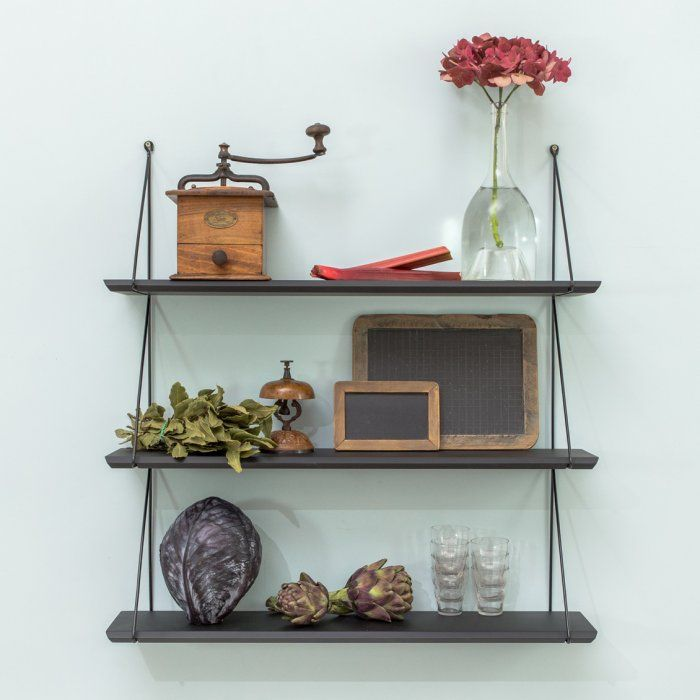 25 best ideas about etagere noire on pinterest tag res - Etagere bibliotheque castorama ...