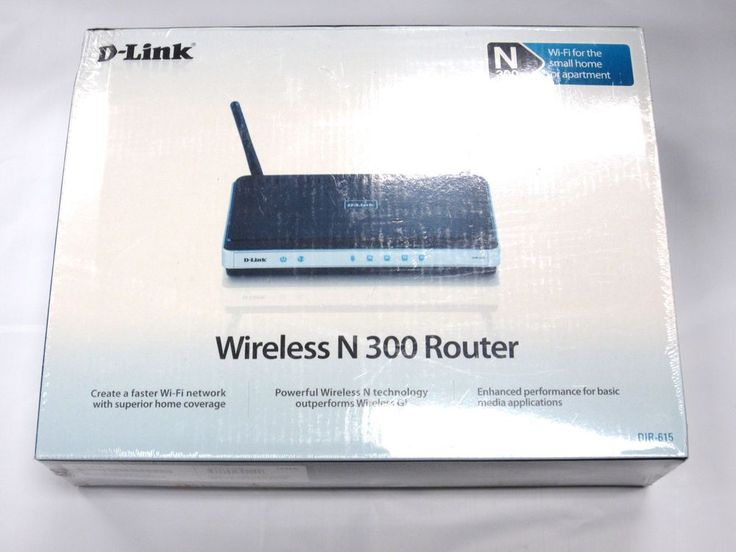 D-Link Wireless N 300 Router DIR-615 *BRAND NEW* #DLink