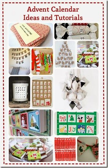 Diy advent calendar ideas and tutorials for christmas for Diy christmas advent calendar ideas