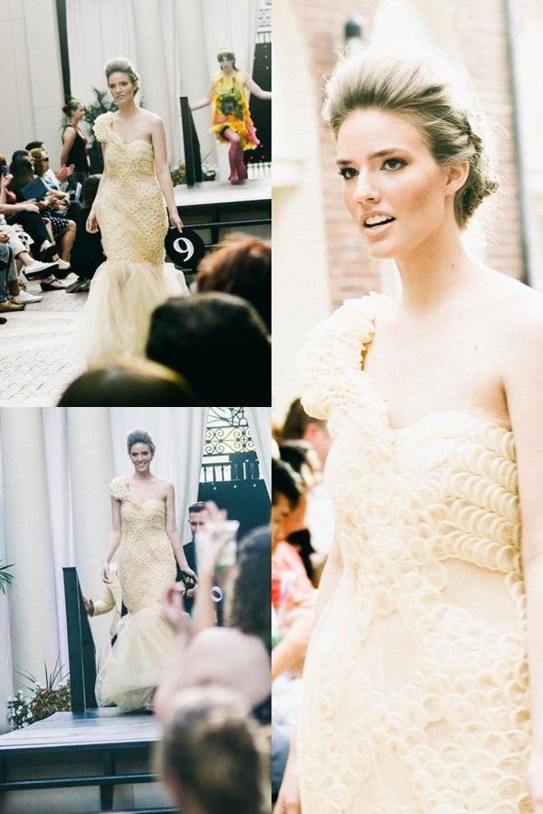 Rachel Wilson Models For Condom Fashion Show 2013
