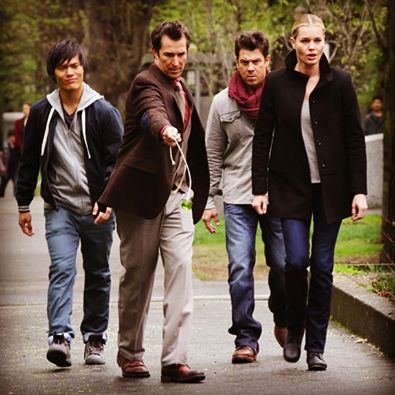 New TNT show. The Librarians. Christian Kane and Noah Wyle.