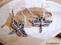 Ohrringe Libelle Antiksilbern von CLARKIkind