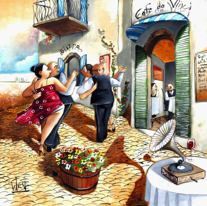 Polka at Cafe da Vinci ~ Ronald West