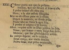 """17/06  AMOR CONSTANTE MÁS ALLÁ DE LA MUERTE  (Francisco de Quevedo) """"Mas no de esotra parte en la ribera/ Dejará la memoria, en donde ardía:/  Nadar sabe mi llama el agua fría,/  Y perder el respeto a ley severa"""""""