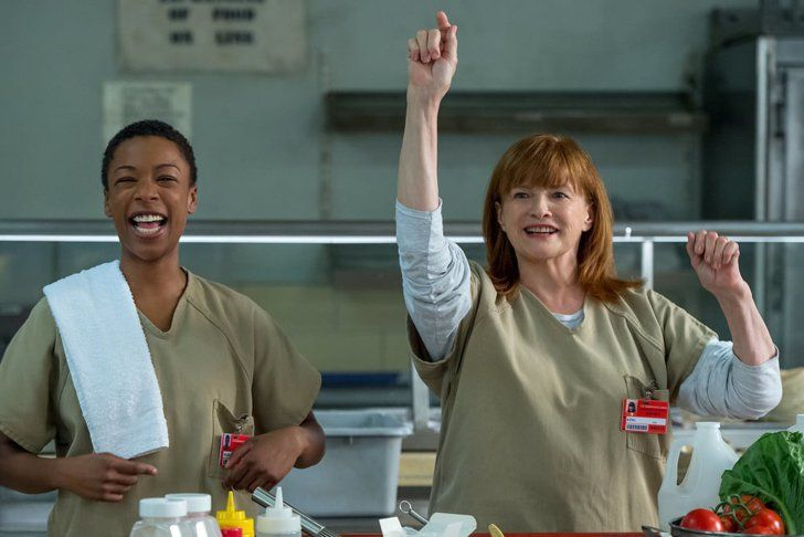 Pin for Later: Why Every Orange Is the New Black Inmate Is in Prison Judy King We know before celebrity chef Judy even gets to Litchfield that she is in prison for tax evasion.