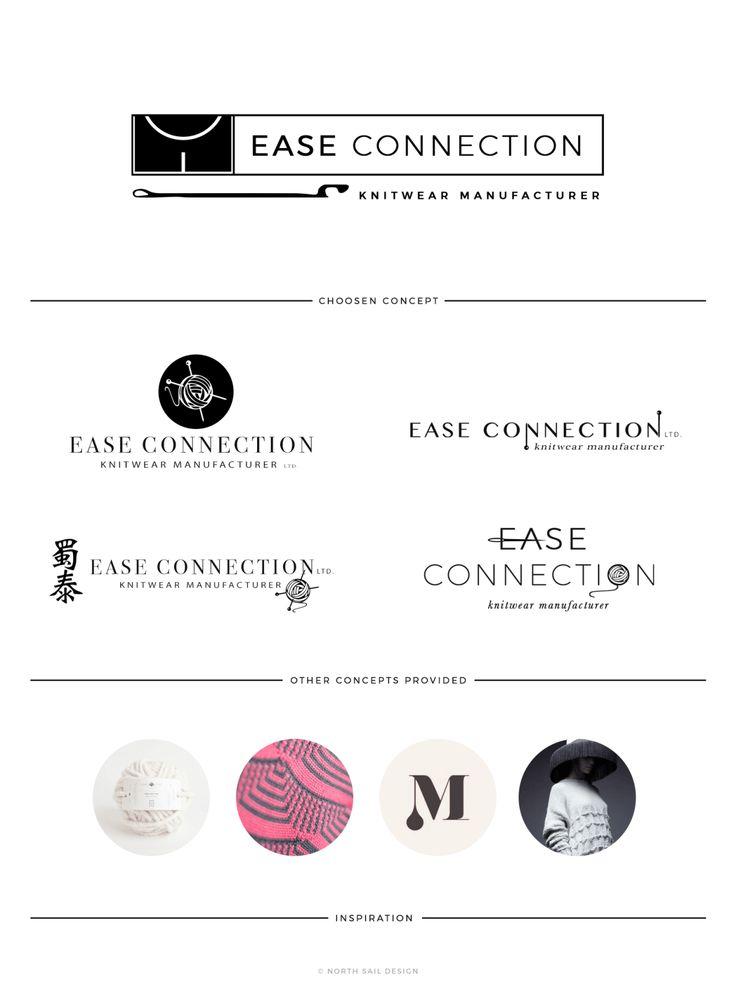 Ease Connection | North Sail Design Custom Logo Design