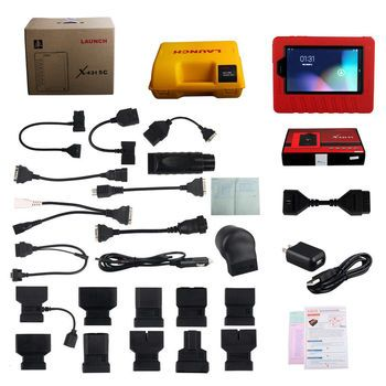 Original Launch X431 5C Pro Wifi/Bluetooth Tablet Diagnostic Tool Full Set Online Update