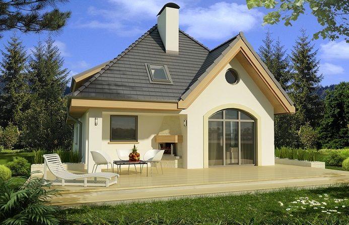 Casă traditională in suprafată de 125 m² cu un interior modern