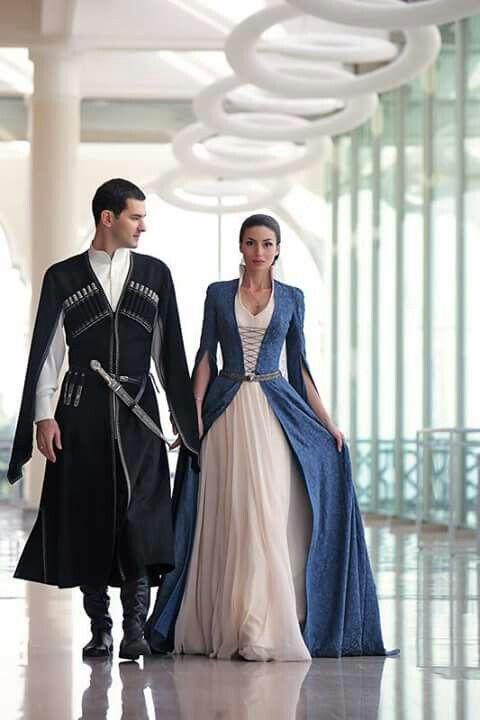 Traditional dress of georgia : the fantastic chokha