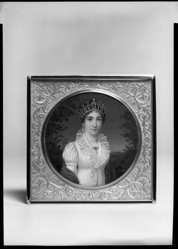 Jean-Baptiste Isabey, Jospehine de Beauharnais as Empress, ca 1804-1809