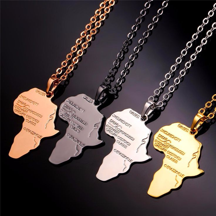 Now available on our store Africa Map Neckla... Check it out here! http://www.maylinkstore.com/products/africa-map-necklace-afrian-hip-hop-8-variants?utm_campaign=social_autopilot&utm_source=pin&utm_medium=pin
