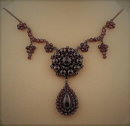 Lavish Garnet Necklace