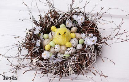 Wianek wielkanocny, autor: farszEaster Centerpieces, Holiday Awesome, Holiday Fun, Easter Decor, Spring East Decor, Holiday Decor, Farsz Handmade