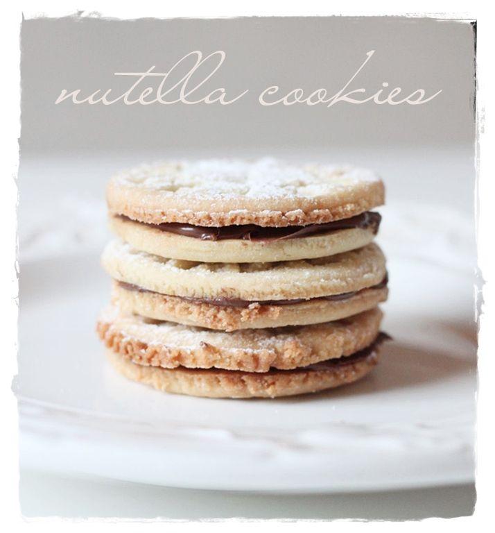 nutella cookies by Vaaleanpunainen hirsitalo