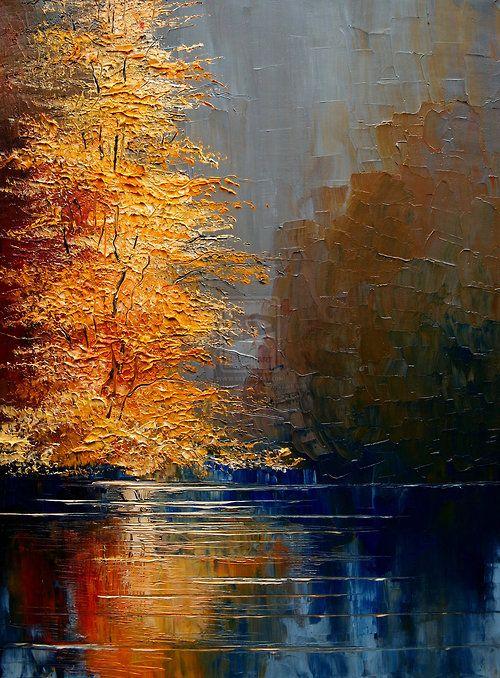 beautiful fall reflections