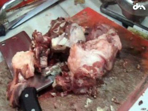 İzmir'de domuz eti operasyonu