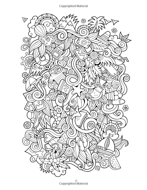 Adult Coloring Pages Books Colouring Sharpie Colors Anti Stress Sharpies Zentangles Sims Meditation