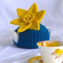 Australia's Biggest Morning Tea Official Daffodil Cosy- free pattern