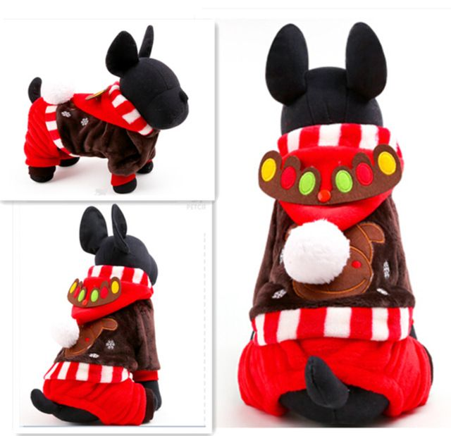 Another fantastic way to help your fur-baby make the most of Christmas! Get festive with this cozy one-piece reindeer jumper. Free shipping!