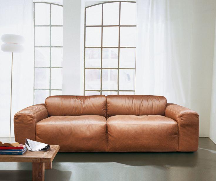 Exklusive Sofas Und Couches exklusives sofa aus weichem gefärbtem rindleder mit aufwendiger