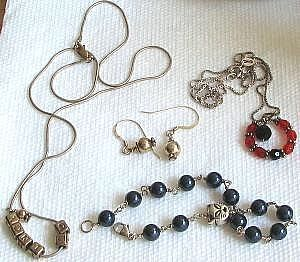 how to clean sterling silver jewelry