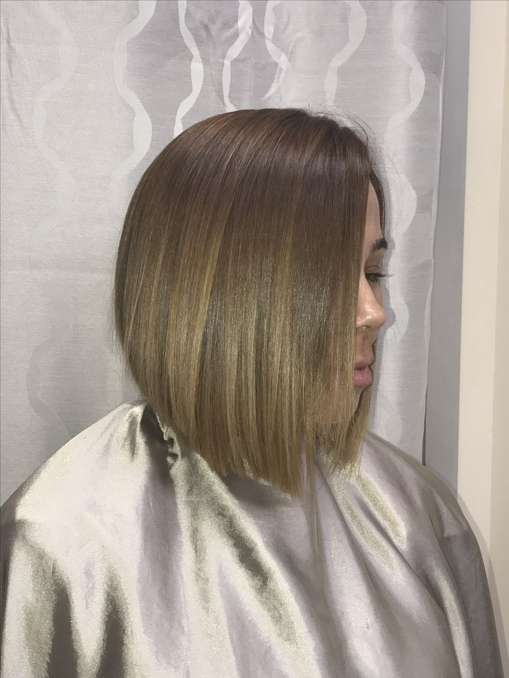 Sexy bob haircut!