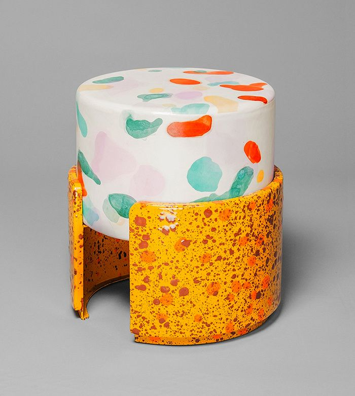 Tabouret Never Too Much, Kueng Caputo (Salon 94). Design Miami/ Basel 2014
