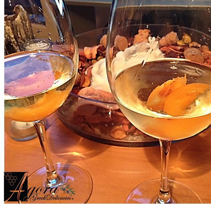 Amazing semi-sweet white wine Kleoni by Lafkioti Winery with a hint of #apricot! dessert wines are amazing with fresh fruits! http://agoragreekdelicacies.co.uk/online-shop/4570272291/Wines