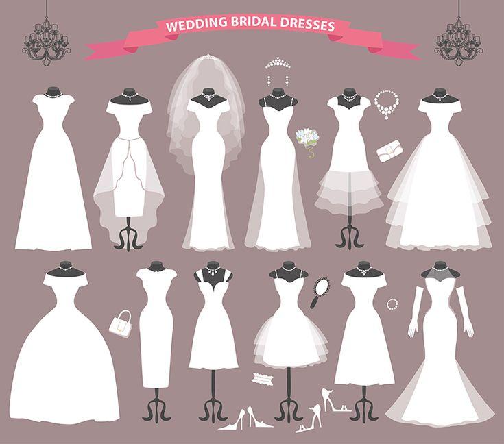 ドレスラインを知ろう。 自分の似合うデザイン、スタイルは? | ウェディングドレスのレンタル「レイジーシンデレラ福岡」