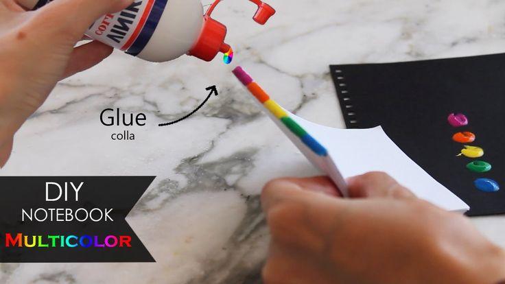 DIY Notebook 💧 Brossura Multicolor Binding