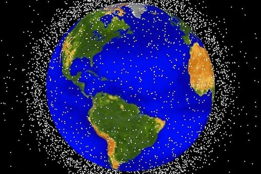 Space junk – or orbital debris – is a term used for all of the objects orbiting the Earth that were created by humans but no longer serve a useful purpose.