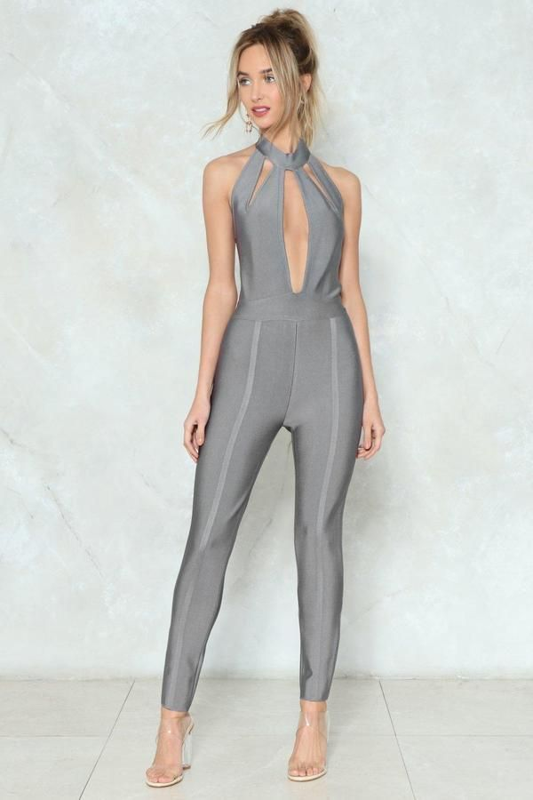 6387feda0806 The Close to Heart Jumpsuit features a bandage design